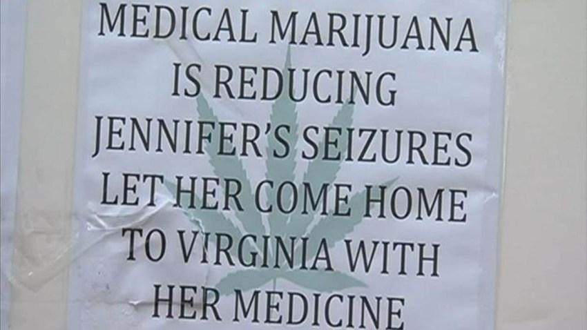 Medical Marijuana is Reducing Jennifers Seizures sign
