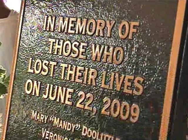 Metro Crash Memorial Plaque