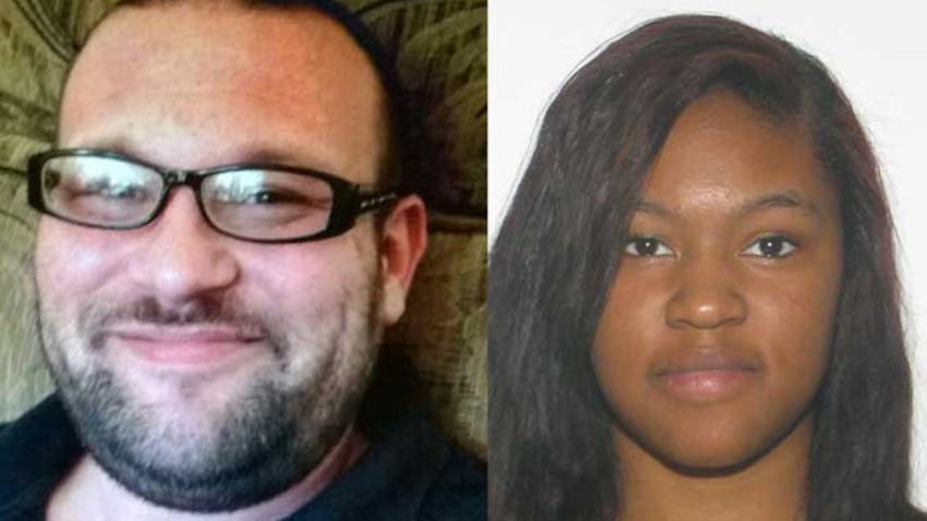 Possible captor Donald Quesenberry and missing teen Aysia Lewis