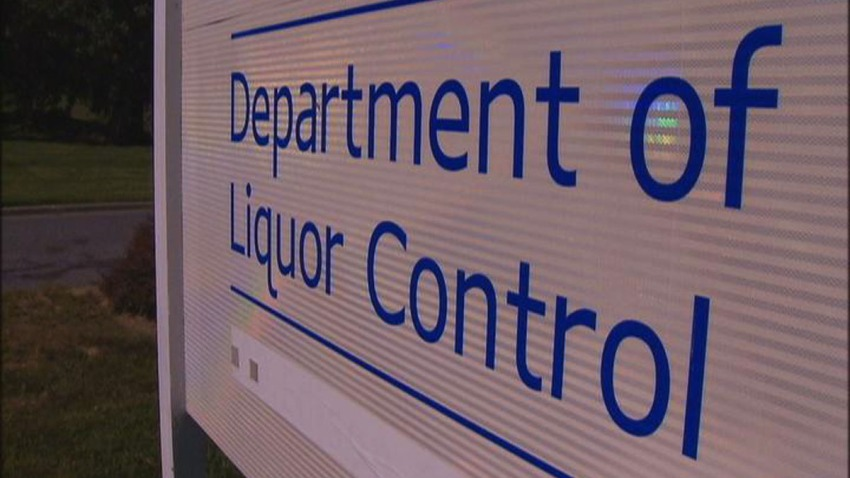 Montgomery County Department of Liquor Control sign
