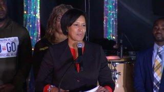 DC Mayor Muriel Bowser