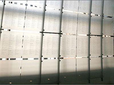 Newseum Journalists Memorial
