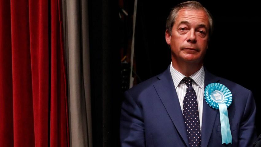 APTOPIX Britain European Elections