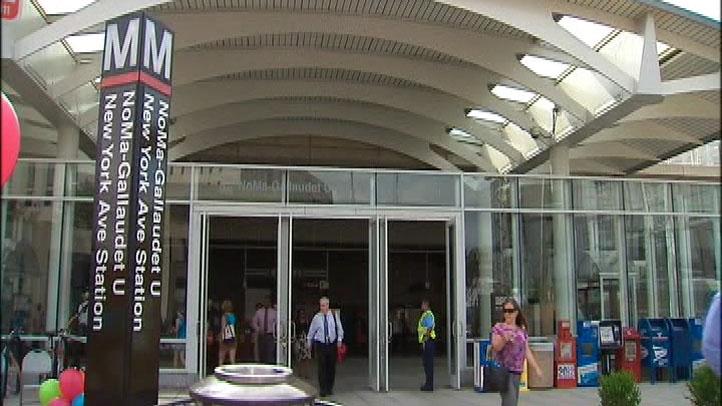 NoMa-Gallaudet U Metro Station
