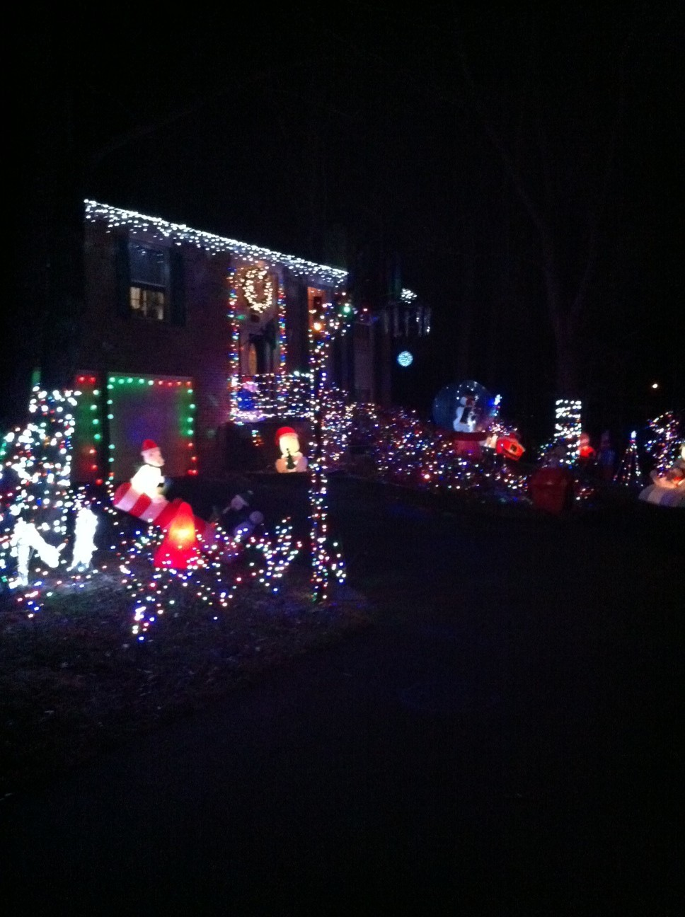 Nbc4 Springfield Va Christmas Lights 2020 Doug's Holiday Lights 2010 – NBC4 Washington
