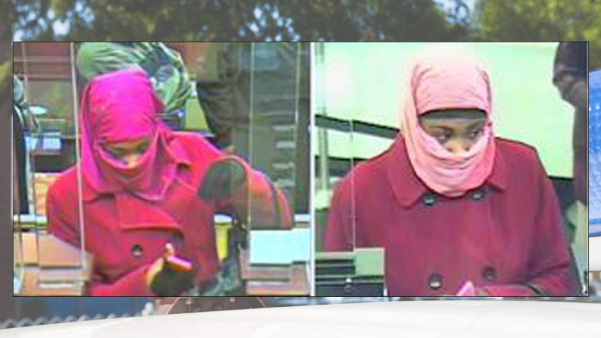 Pink Bank Robber Prince Georges County