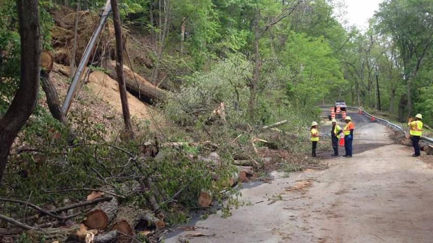 Piscataway Hills homes evacuated 050514