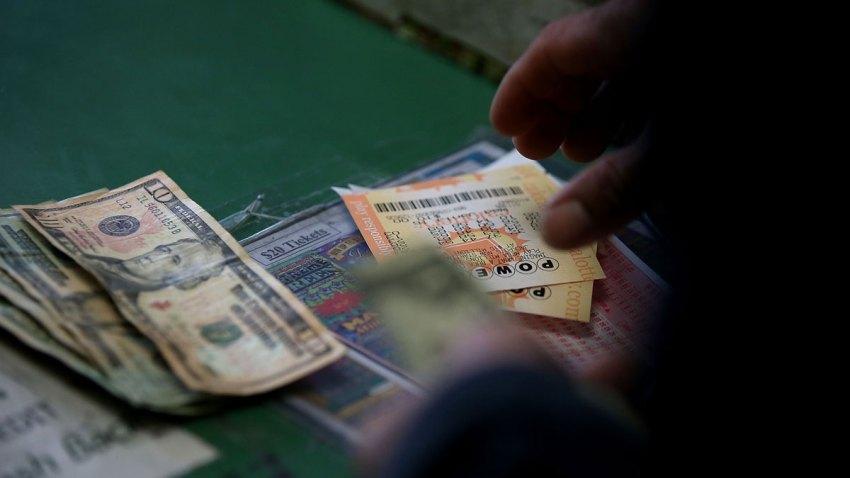 Powerball Cash Money Lottery Ticket Jackpot