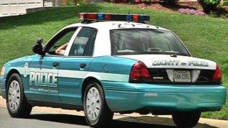 Prince William County Police Cruiser
