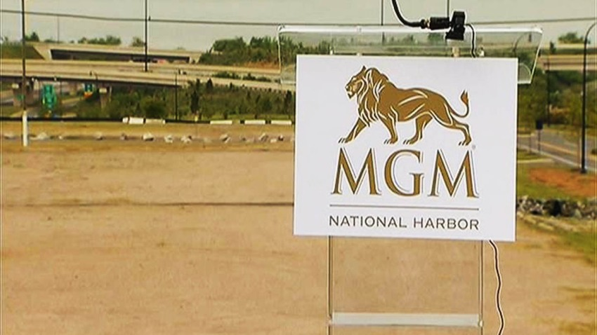 Proposed MGM National Harbor Casino site