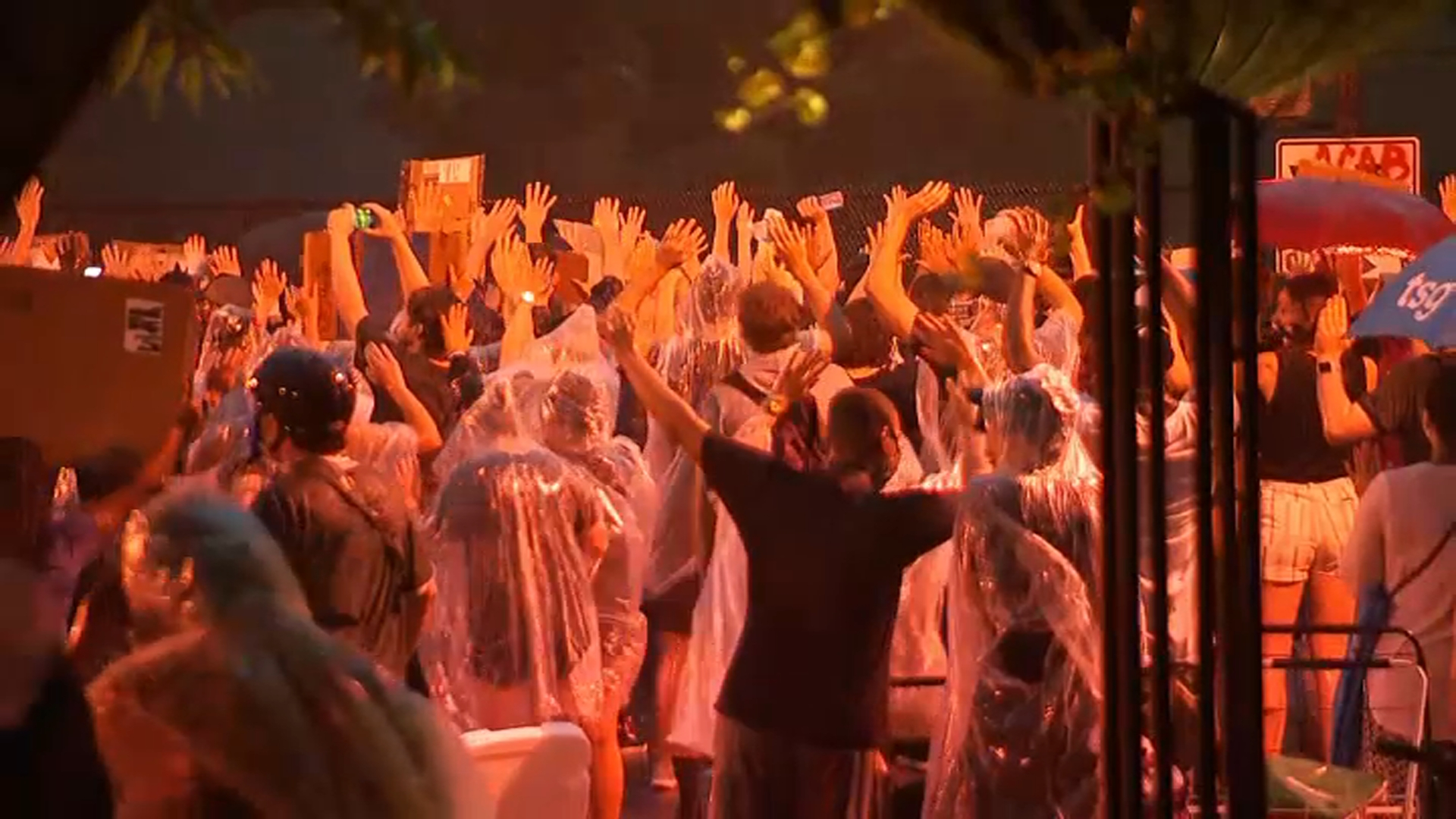 2 National Guard Hurt by Lightning Strike as Storms Hit DC Protests