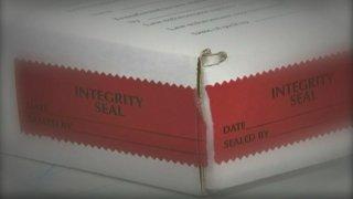 Stock photo of a rape kit