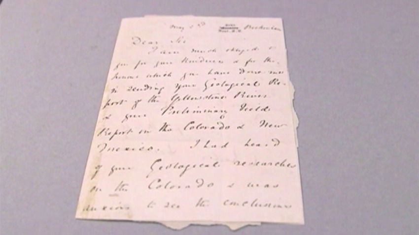 Recovered Darwin Letter