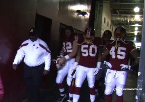 Redskins pregame