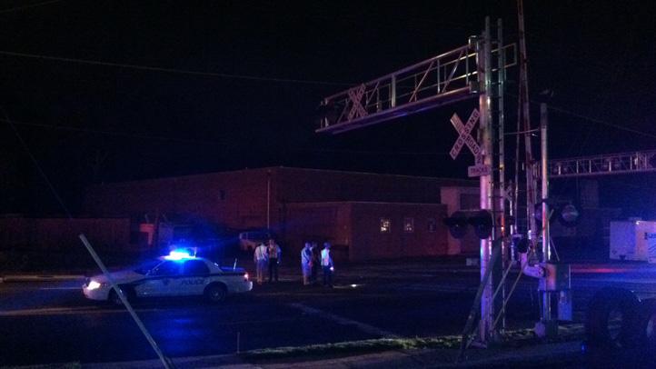 Rockville Pedestrian Struck by train 1