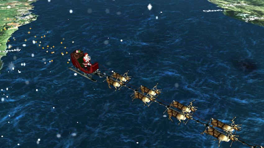 Santa Clause Tracker NORAD