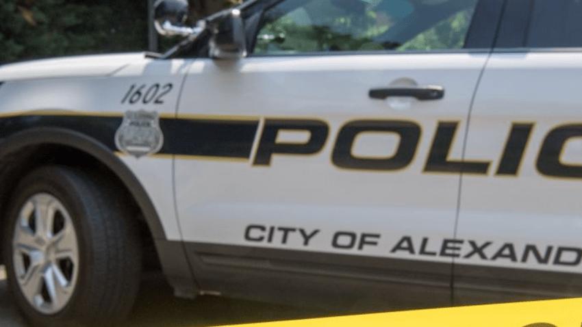Alexandria police car