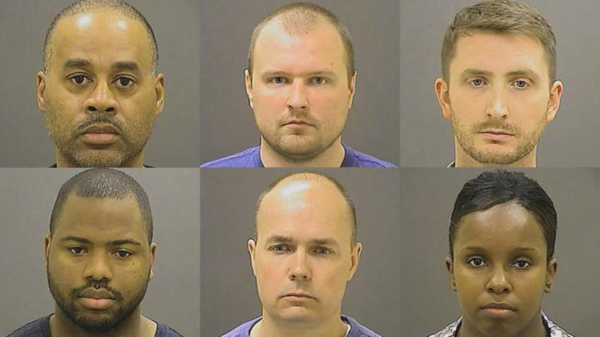 Six Officers Charged in Baltimore1