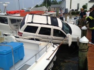 Solomons Island crash