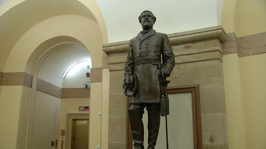 Statue of Robert E. Lee in the US Capitol