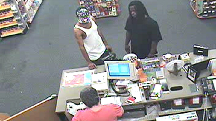 Stun Gun Robbery Surveillance 1