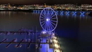 The Capital Wheel Night Time