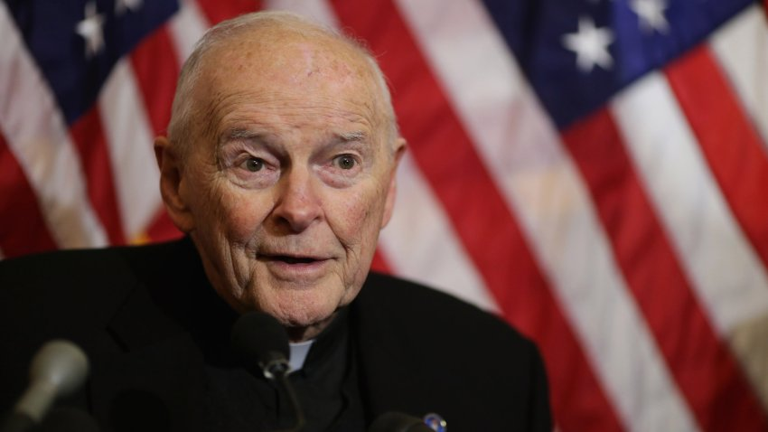 File photo of Cardinal Theodore McCarrick