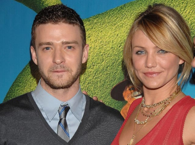 Justin Timberlake and Cameron Diaz