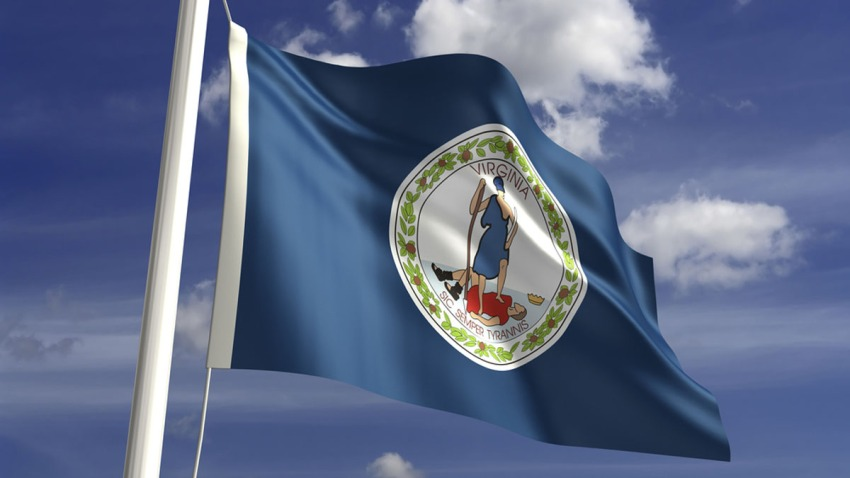 Virginia Flag shutterstock_144084445