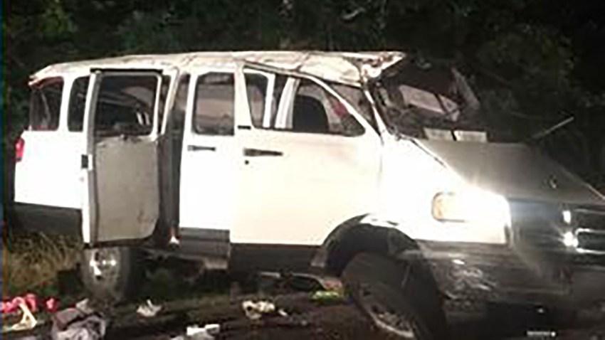 Virginia Van Crash