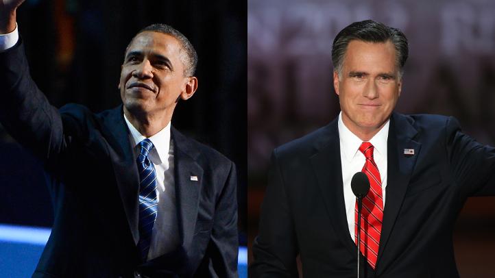 WEB Obama Romney convention pics