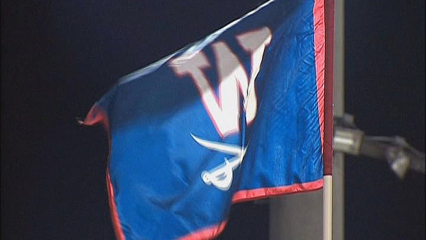 WT Woodson High School Flag Fairfax