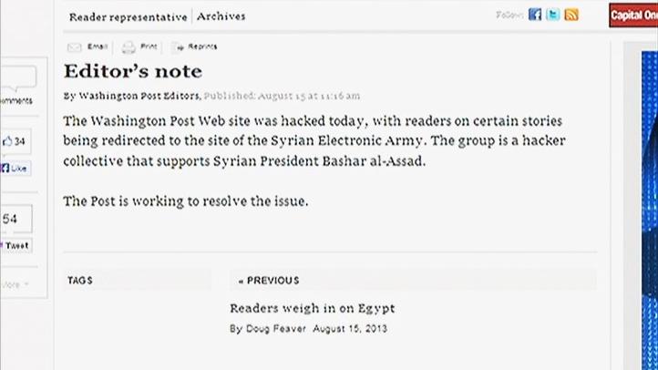 Washington Post Website Hacked