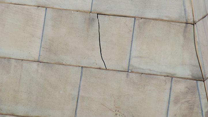 Washington Monument Crack 2