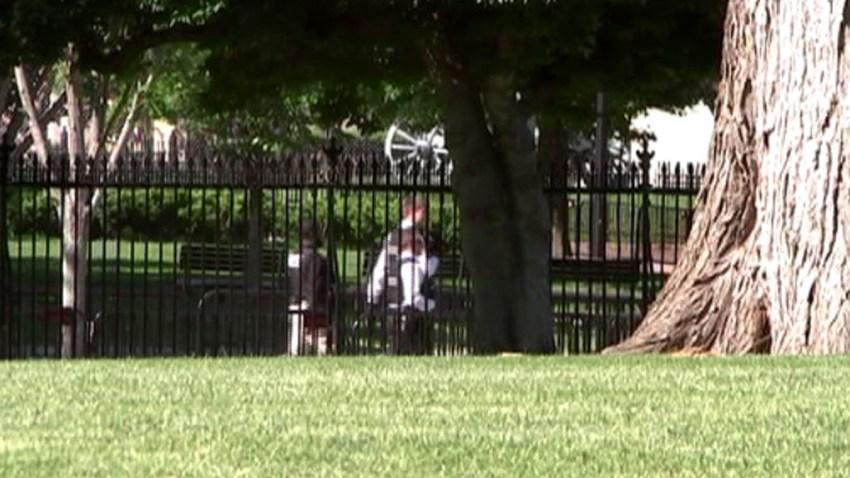 White House Fence Jumper 051617
