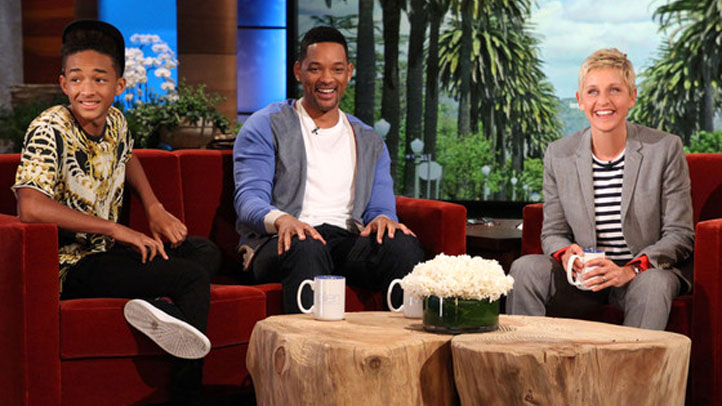 Will Smith Jaden Smith Ellen