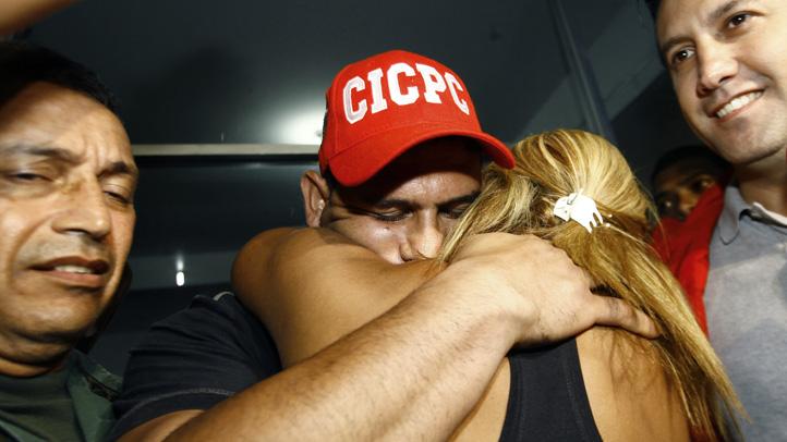 Venezuela Ramos Abducted Rescued