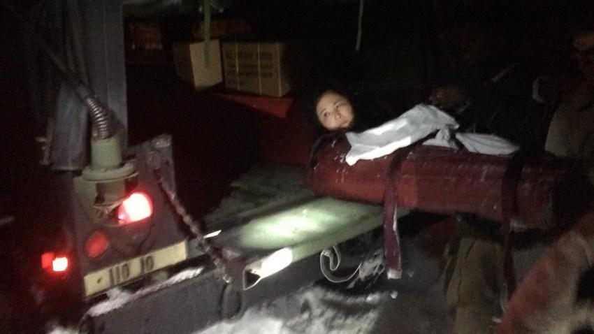 Woman Rescued From Snowed in Car Accokeek