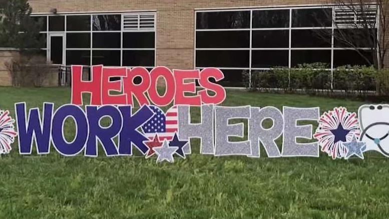 Stafford County Woman Builds Signs And Cards Of Hope