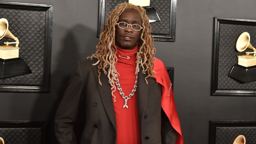 Young Thug attends the 62nd Annual Grammy Awards at Staples Center on January 26, 2020 in Los Angeles, CA.