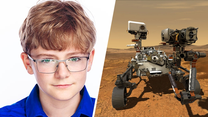 Alex Mather Perseverance Mars Rover