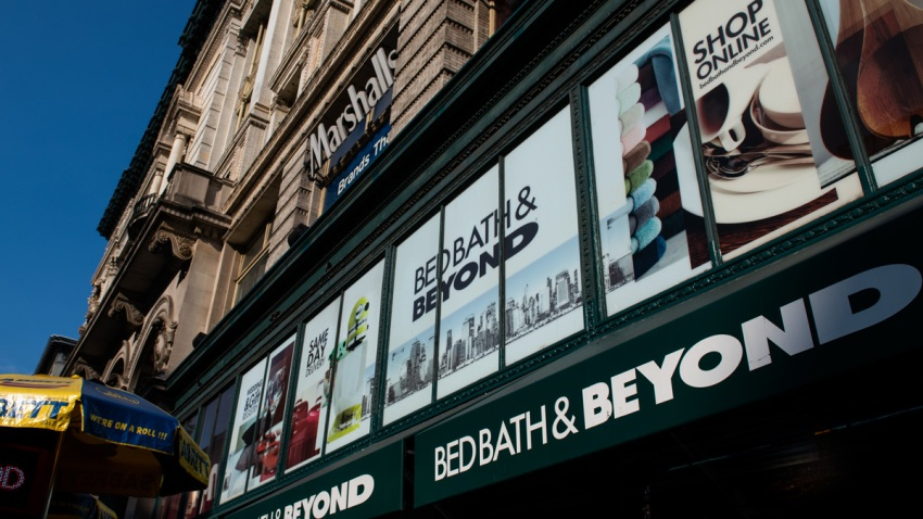 A Bed Bath & Beyond in New York City on July 3, 2019.