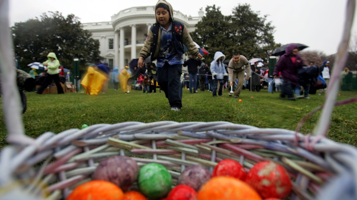 White House Easter Egg Roll Lottery Opens Tuesday