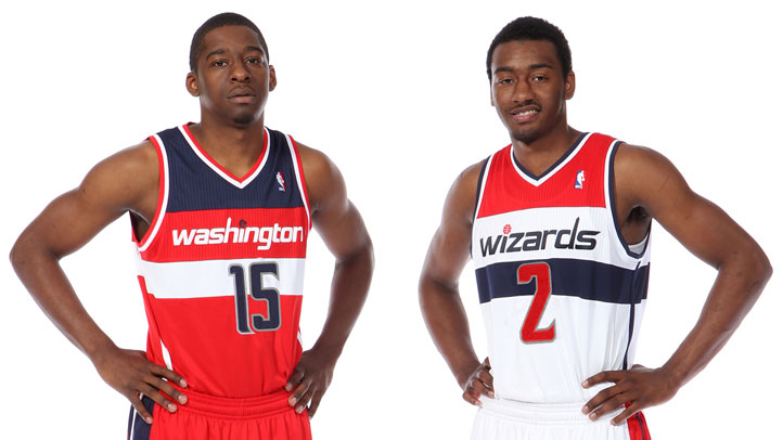 Wizards Crawford Wall new uniforms