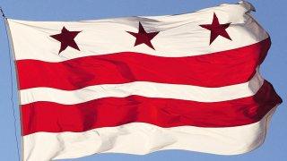 The D.C. flag.