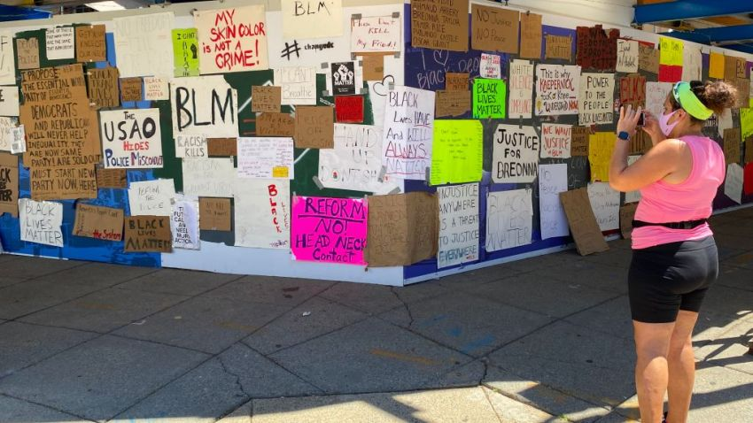DC protest signs