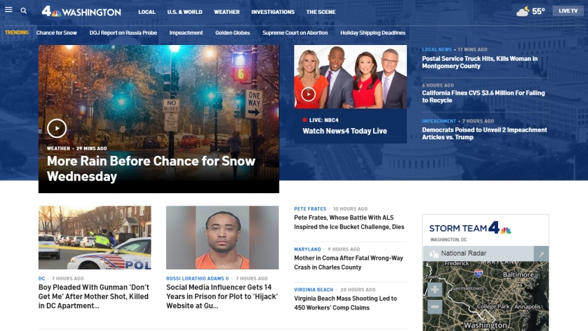 DC Home Page