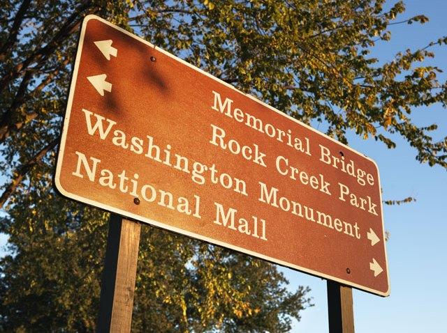 dc sign rock creek memorial bridge