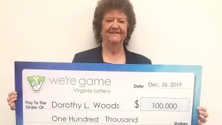 Virginia lottery winner