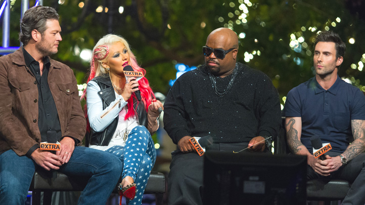 'Extra' Presents 'The Voice' at The Grove
